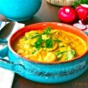 Creamed Cauliflower-Root Vegetable Soup
